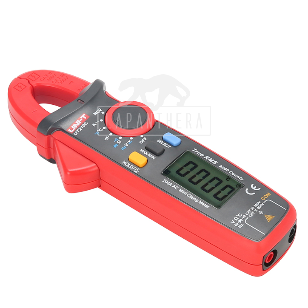 clamp multimeter how to use